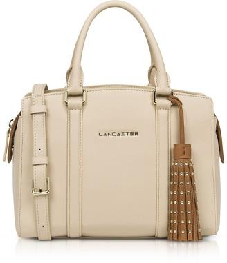 A.N.A Lancaster Paris & Annae Beige/Terracotta Satchel Bag
