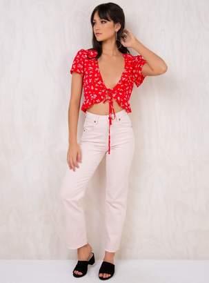 Wrangler Hi Birkin Jeans Almost Pink
