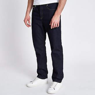 River Island Dark blue Bobby standard jeans