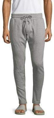 Mostly Heard Rarely Seen Tapered Cotton Blend Jogger Pants