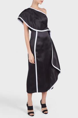 Olia Victorieva One Shoulder Dress