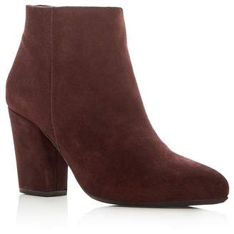 La Canadienne Women's Donna Waterproof Suede Cold Weather High-Heel Booties