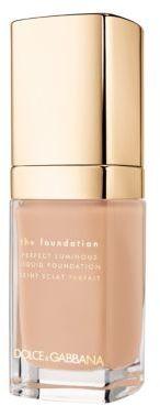 Dolce & Gabbana Luminous Liquid Foundation/1 oz. $61 thestylecure.com