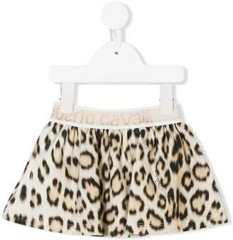 Roberto Cavalli Junior leopard print tutu skirt