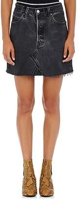 RE/DONE Women's High Rise Levi's® Miniskirt - Black