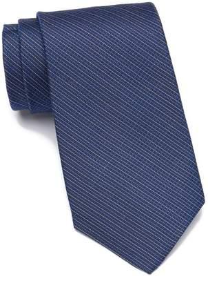 Calvin Klein Fine Line Graph Silk Tie