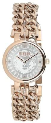 Versace Women's Berlin Swarovski Crystal Accent Analog Quartz Bracelet Watch, 30mm