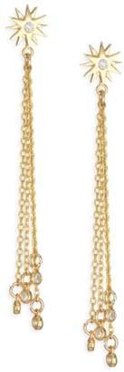 Jules Smith Designs Soleil Chain Drop Earrings