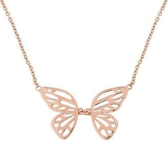 "Olivia Burton Butterfly Necklace, 21"""