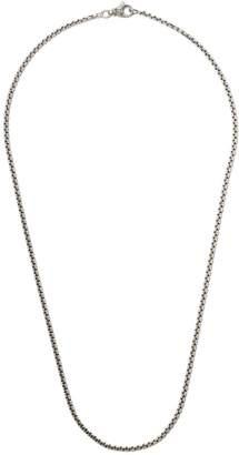 David Yurman 24 length small Box Chain necklace