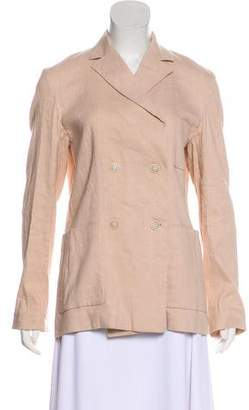Isabel Marant Notch-Lapel Double-Breasted Blazer