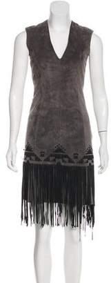 Derek Lam Suede Mini Dress