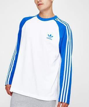 adidas S-Stripes Long Sleeve T-shirt Blue