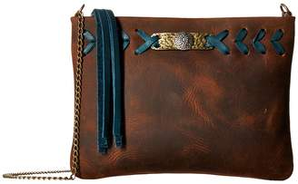 Leather Rock Cheyenne Crossbody Cross Body Handbags
