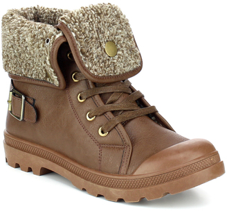 Brown Fold-Over Casper Boot $38 thestylecure.com