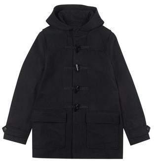 Burton Mens Black Wool Duffle Coat