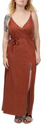 Volcom Faux Suede Dress