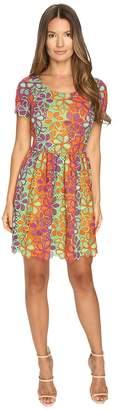 Moschino Multicolor Lace Dress Women's Dress