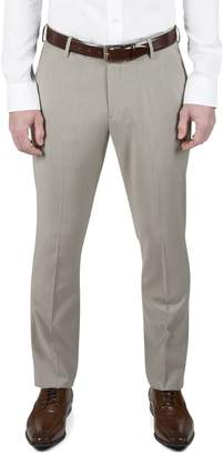 Kenneth Cole Reaction Slim-Fit Textured Dress Pants