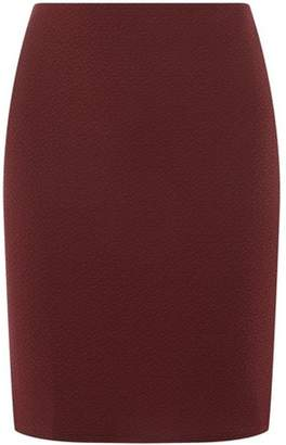 Dorothy Perkins Womens **Tall Red Textured Mini Skirt