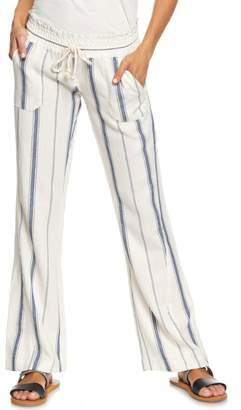 Roxy Oceanside Linen Blend Pants