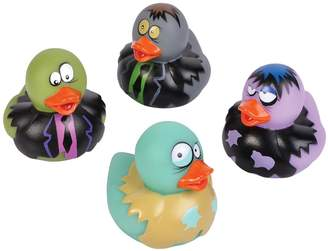 Adventure Planet 2-inch Zombie Rubber Duckies (Bulk Pack of 12 Ducks)