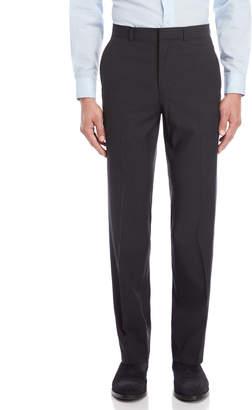 Kenneth Cole Black Neat Slim Suit Pants