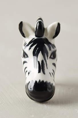 Anthropologie Ceramic Safari Knob