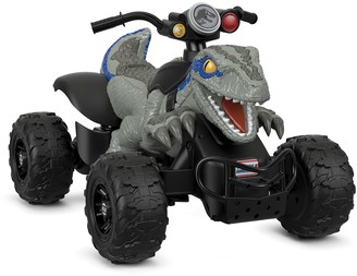 Fisher-Price Power Wheels Jurassic World Dino Racer Ride-On Vehicle by Power Wheels
