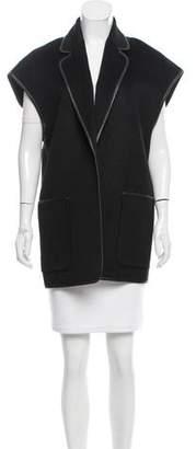 Michael Kors Wool & Angora-Blend Vest