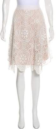 Trina Turk Lace Knee-Length Skirt