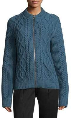Marc Jacobs Wool Cable-Knit Cardigan