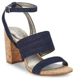 Bandolino Anchor Denim Ankle Strap Sandals