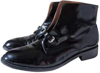 Toga Pulla Black Patent leather Ankle boots