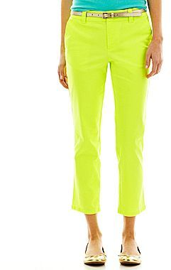 JCPenney jcpTM Cropped Pants - Talls