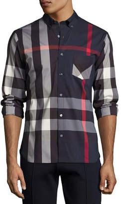Burberry Thornaby Check Sport Shirt