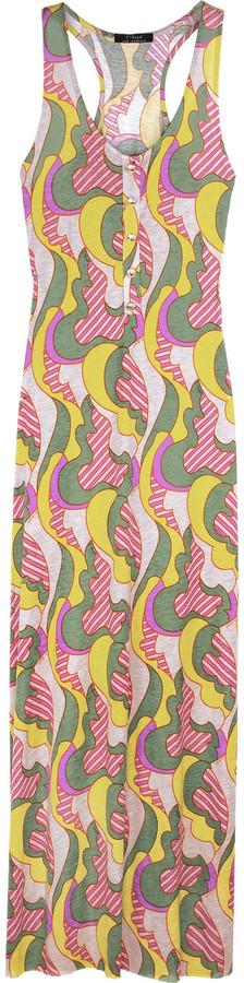 T-Bags Printed maxi dress