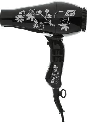 Parlux 3200 Flowers Hair Dryer - Black/Silver