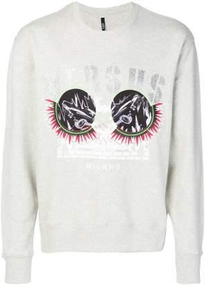 Versus logo print sweatshirt