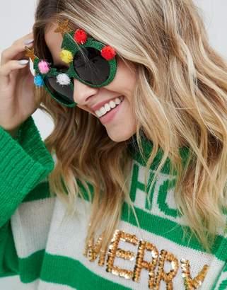 Fizz Creations Fizz Holidays Tree Novelty Glasses
