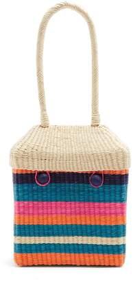 Sophie Anderson Serella Stripe Straw Handbag