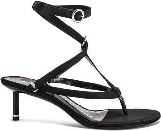 172320b8565 Alexander Wang Black Buckle Closure Women s Sandals - ShopStyle