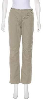 Maison Margiela Mid-Rise Straight-Leg Pants