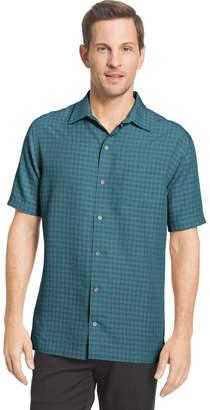 Van Heusen Big & Tall Air Classic-Fit Dobby Casual Button-Down Shirt
