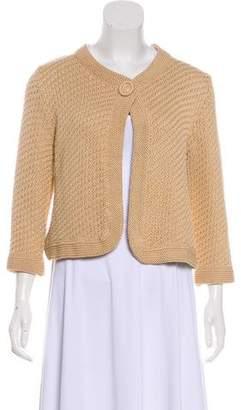 Max Mara Knit Silk-Blend Cardigan