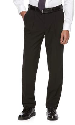 Croft & Barrow Men's True Comfort 4-Way Stretch Classic-Fit Pleated Dress Pants