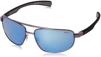 Revo Sunglasses Wraith RE 1018 Polarized Rectangular Sunglasses
