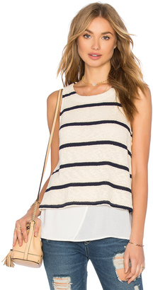Splendid Tucson Striped Loose Knit Tank $98 thestylecure.com