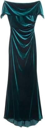 Vince Camuto Velvet Off-the-shoulder Gown