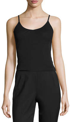 Lafayette 148 New York Plus Size Jersey Camisole W/ Adjustable Straps